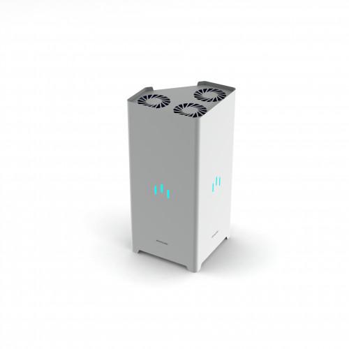УФ-рециркулятор Milerd DZR-3 (84m3/ч) - бактерицидный дезинфектор, облучатель, очиститель воздуха