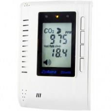 Монитор-контроллер СО2 и температуры настенный ZGw08PR